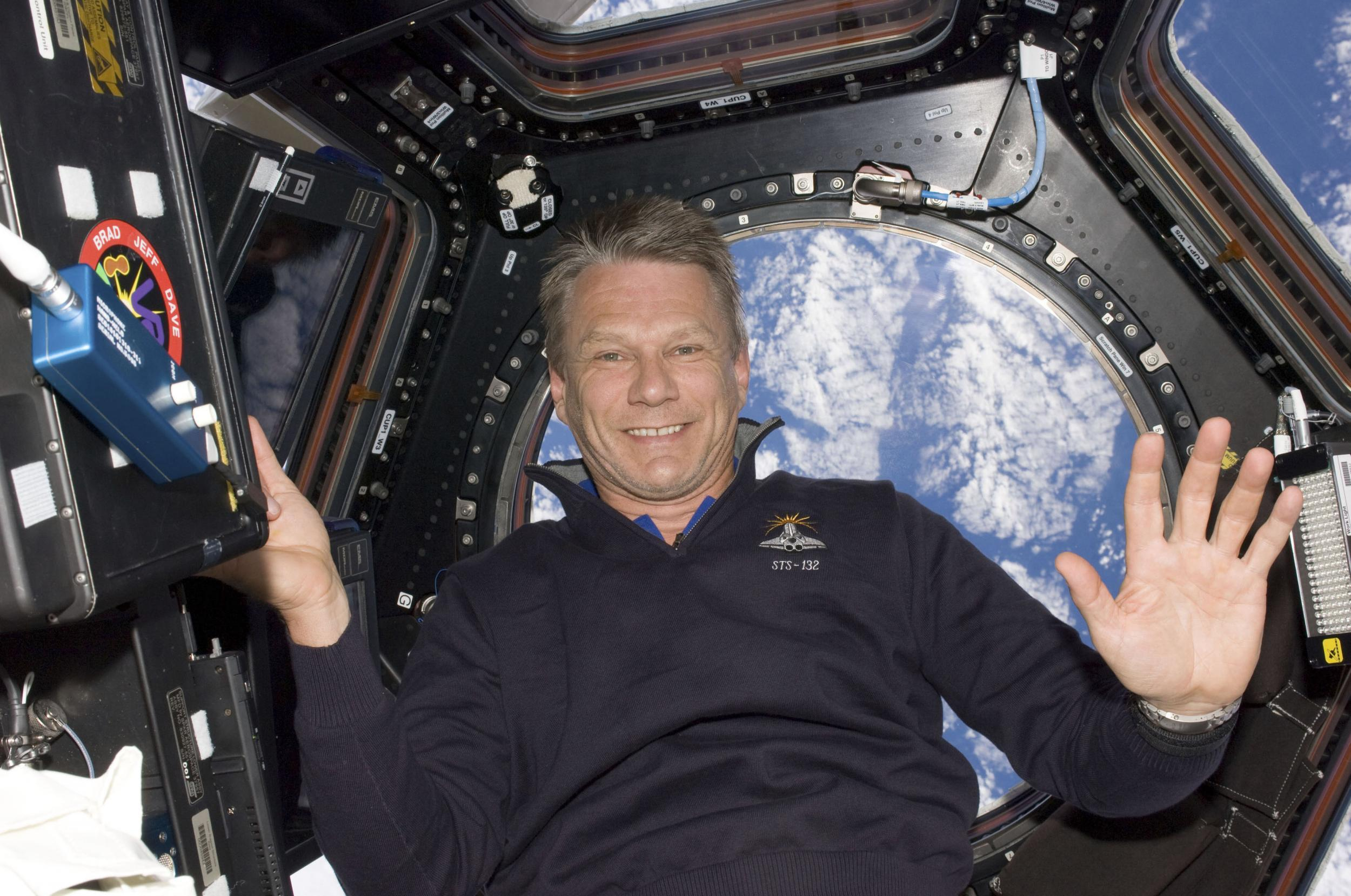 British astronaut Piers Sellers s at months after cancer