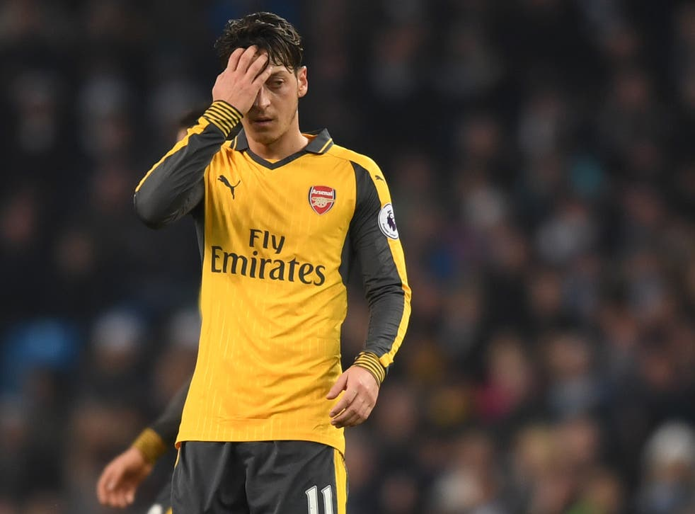 Mesut Özil has a point to prove after defeats at Everton and Manchester City