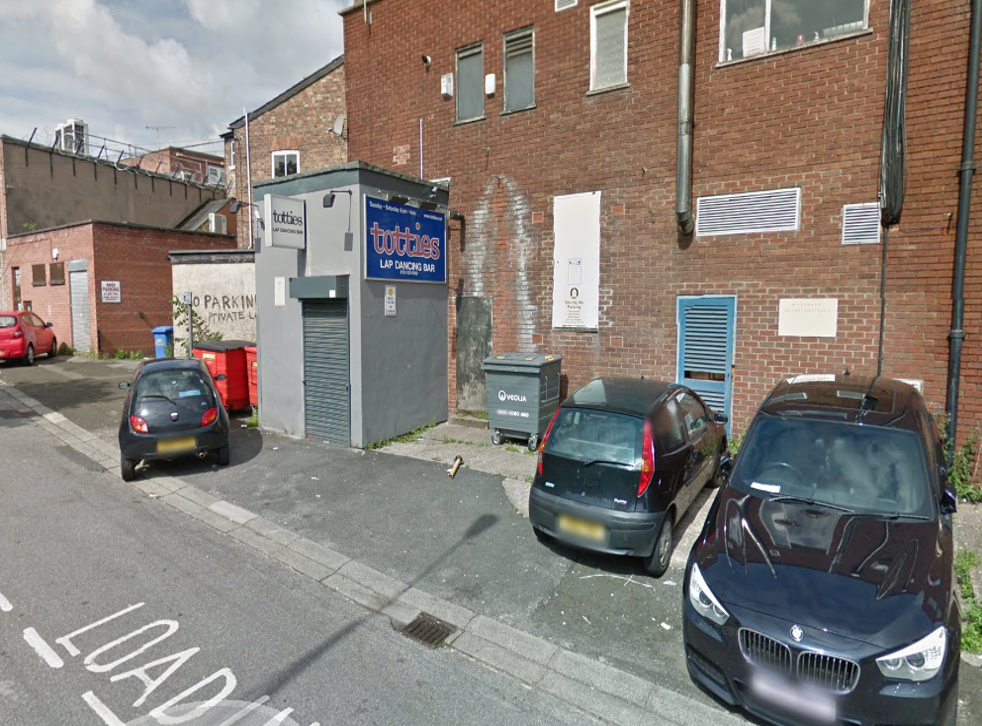 The fight reportedly spilled out of Totties lapdancing bar on the Causeway in Altrincham