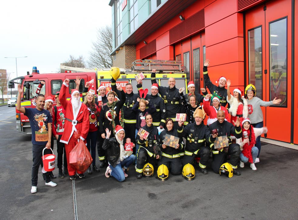 This Christmas, the London Fire Service and Co-op are joining forces to cook Christmas dinner for the local community