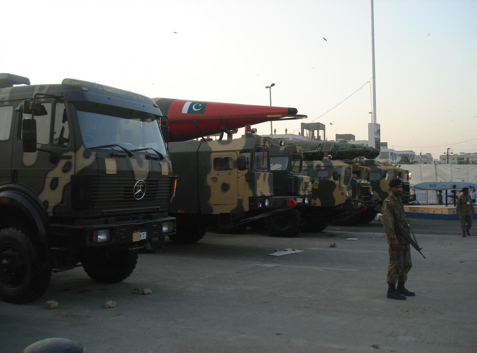 Pakistan is one of nine countries with official access to nuclear weapons; its stockpile numbers 130