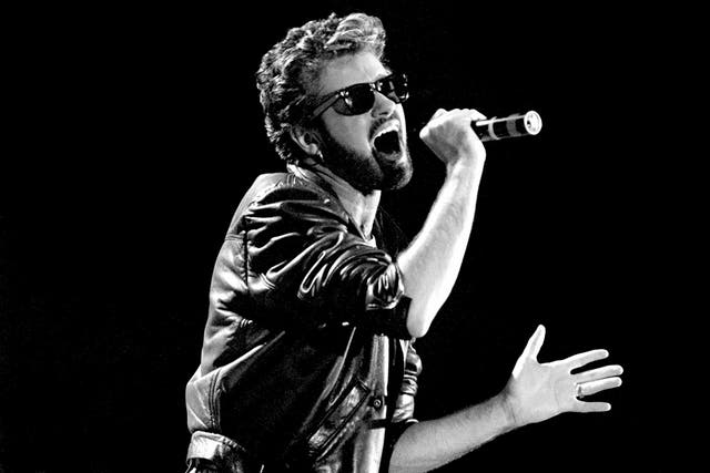 George Michael went from Wham! to a solo career seamlessleywith hits including 'Father Figure'(PA)