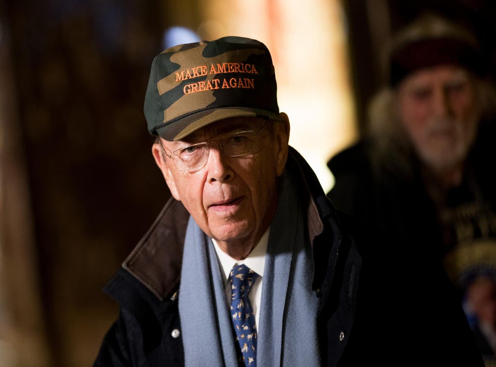 President-elect Donald Trump's Commerce Secretary appears at Trump Tower in New York City