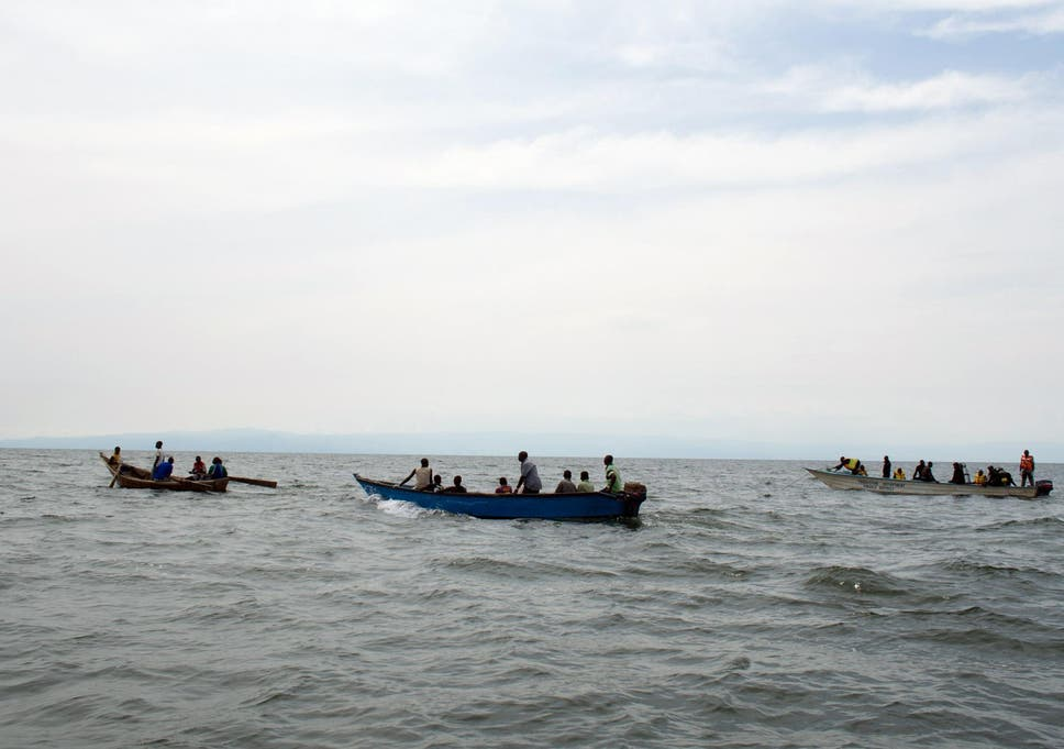 At least 30 drown in Uganda as boat carrying football team