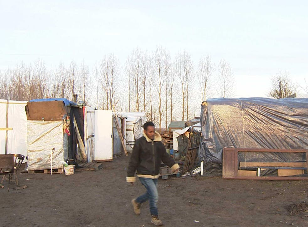 A camp in Norrent-Fontes is seeing 'several dozen' new arrivals each week