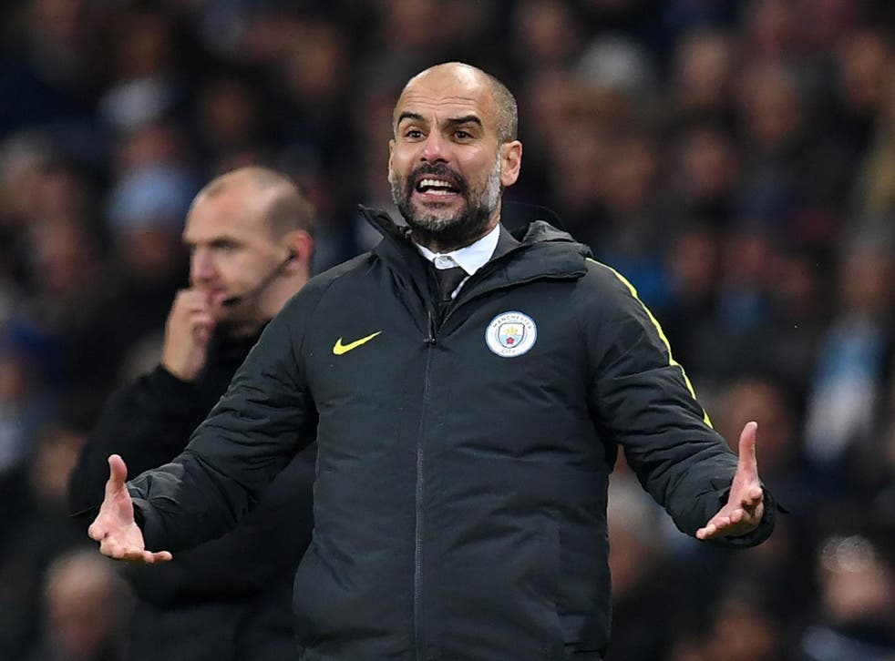Pep Guardiola will want his side to build on the win over Arsenal against Hull