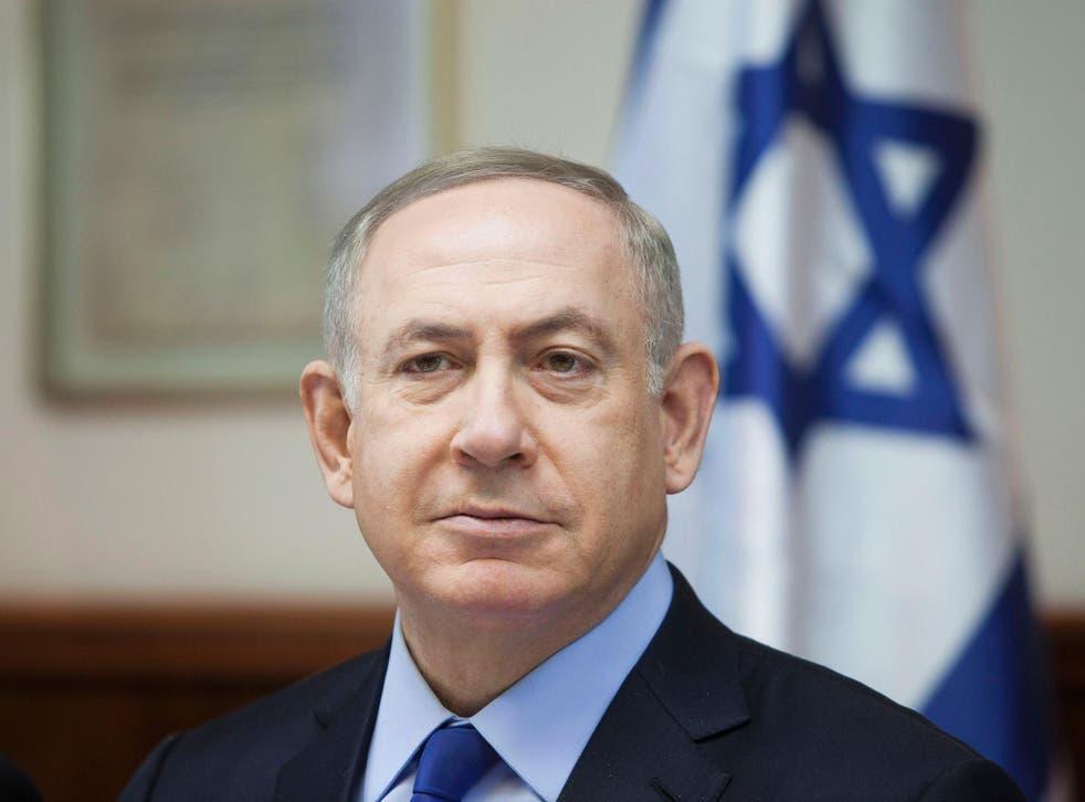 Benjamin Netanyahu has called the UN resolution a 'shameful ambush'