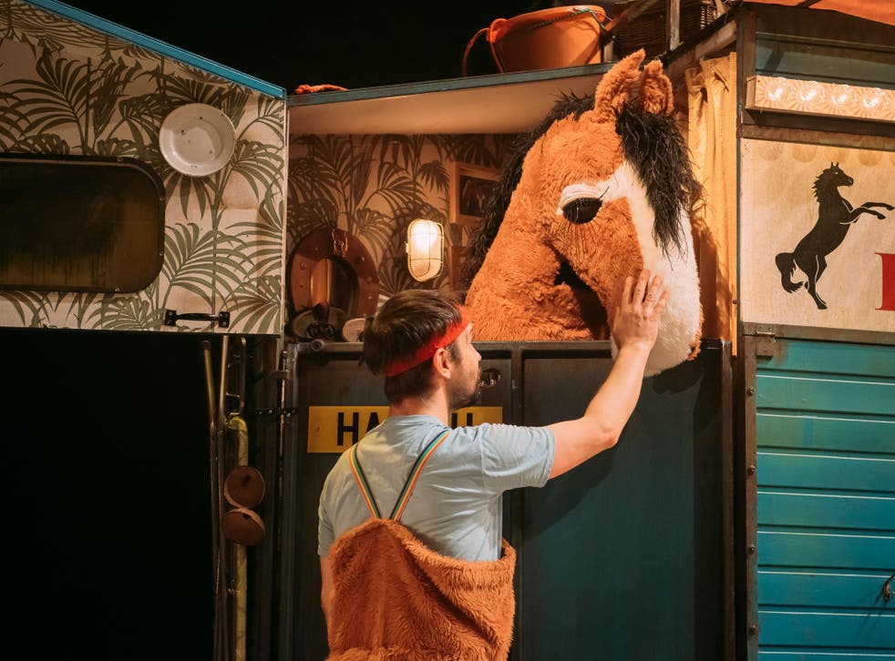 Andy Manley helps bring a classic tale to life in an innovative and comical production