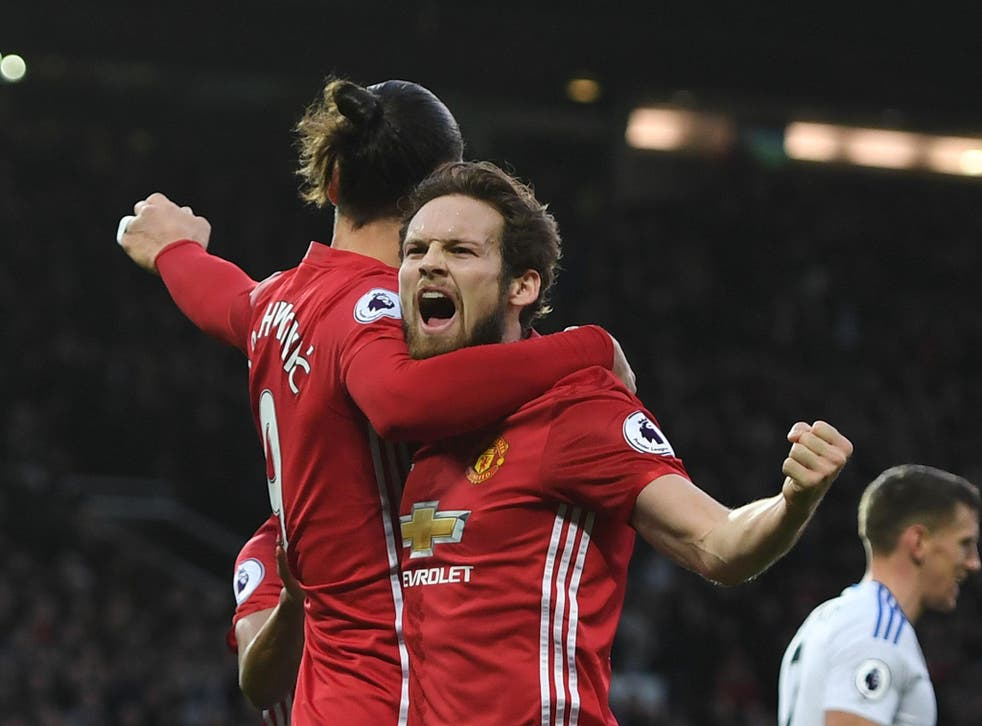 Daley Blind believes Manchester United are finding their form at the right time