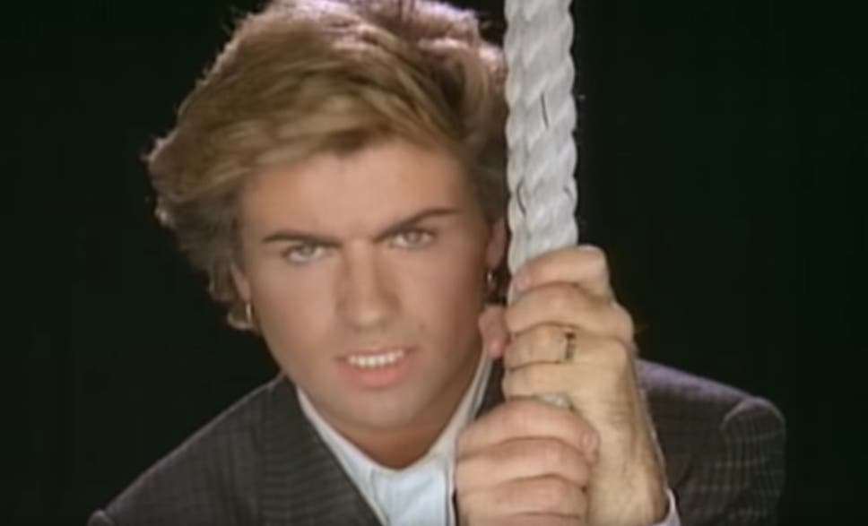 George michael had no idea why everyone loved careless whisper so george michael in the video for careless whisper ccuart