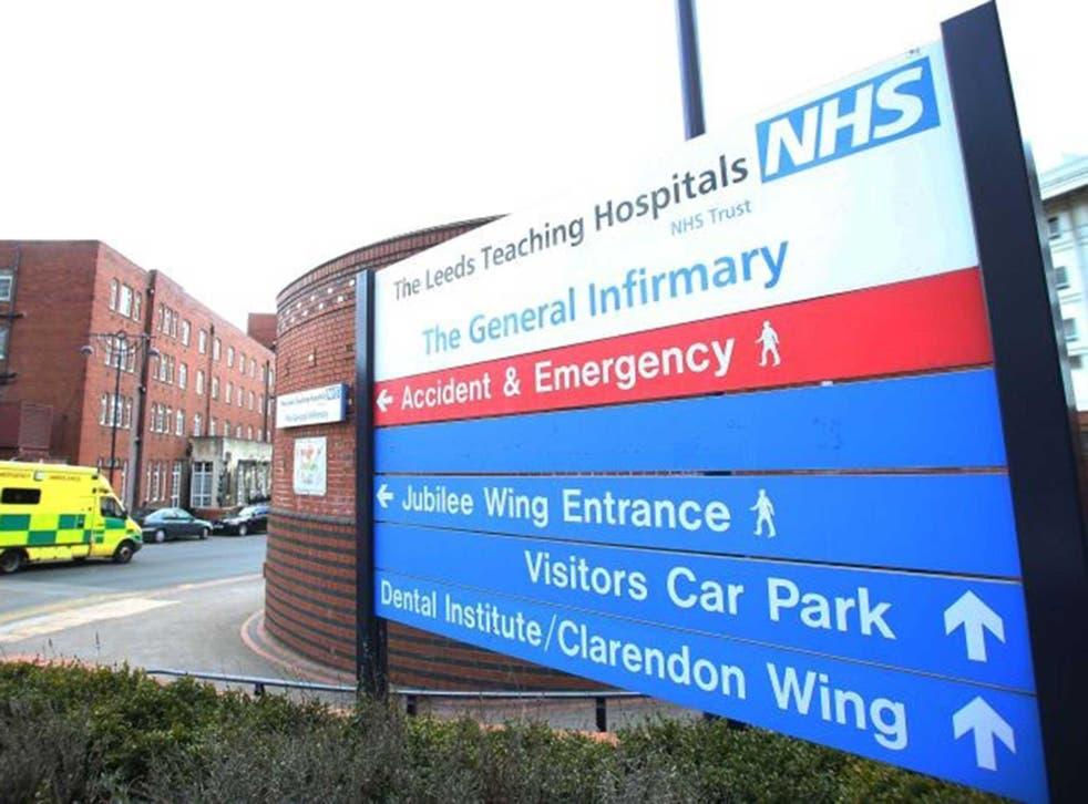 <p>Leeds Teaching Hospitals NHS Trust is facing unprecedented pressure</p>