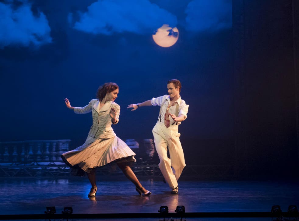 Ashley Shaw and Sam Archer as Victoria Page and Boris Lermontov bring a cinema classic to the stage in Matthew Bourne's  in 'The Red Shoes'