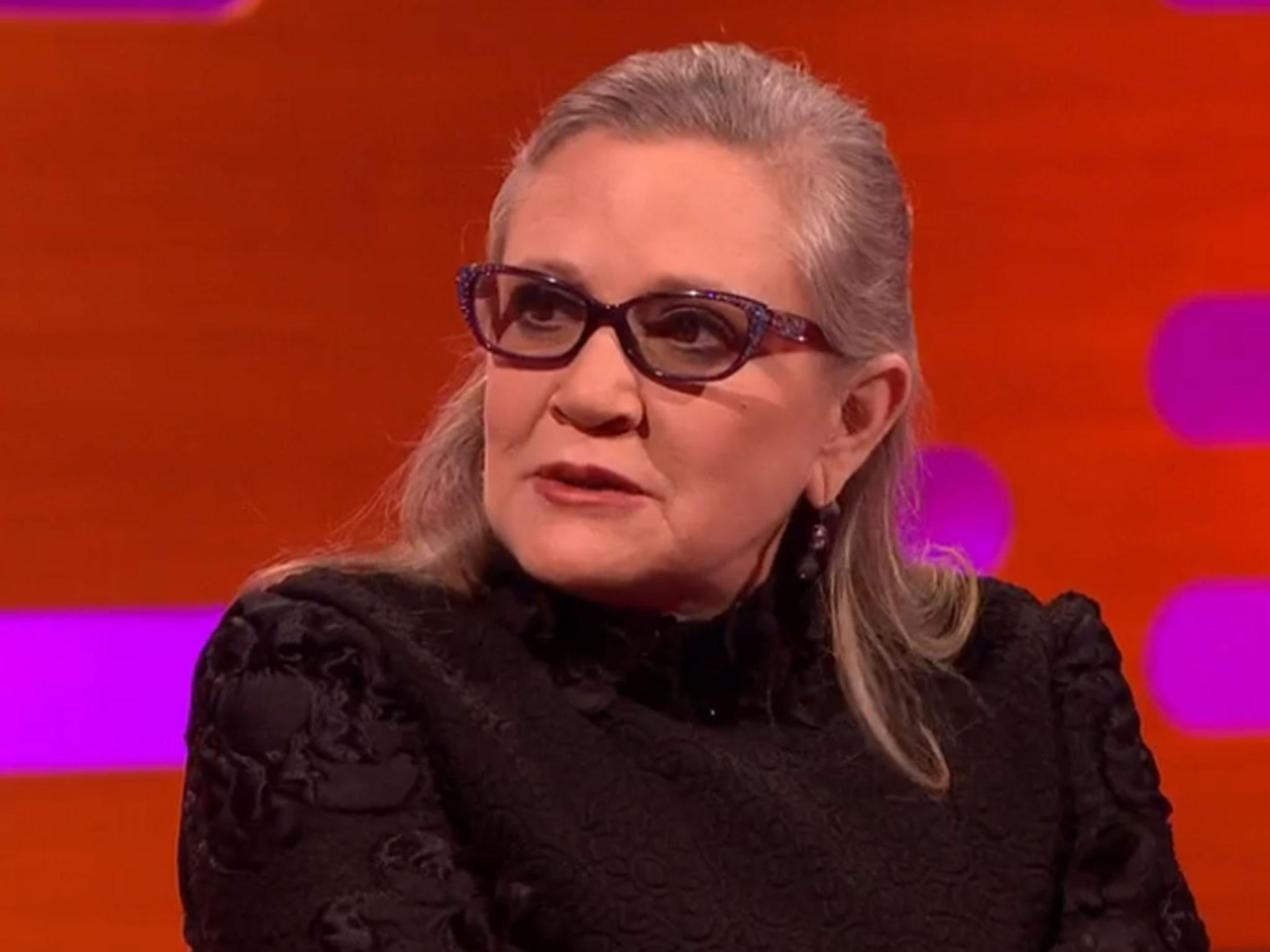 Carrie Fishers Last Interview Secret Diaries Harrison Ford And A