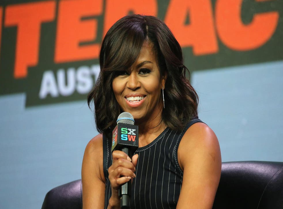 First Lady of the United States Michelle Obama speaks onstage at SXSW Keynote: Michelle Obama during the 2016 SXSW Music, Film + Interactive Festival at Austin Convention Center on March 16, 2016 in Austin, Texas.