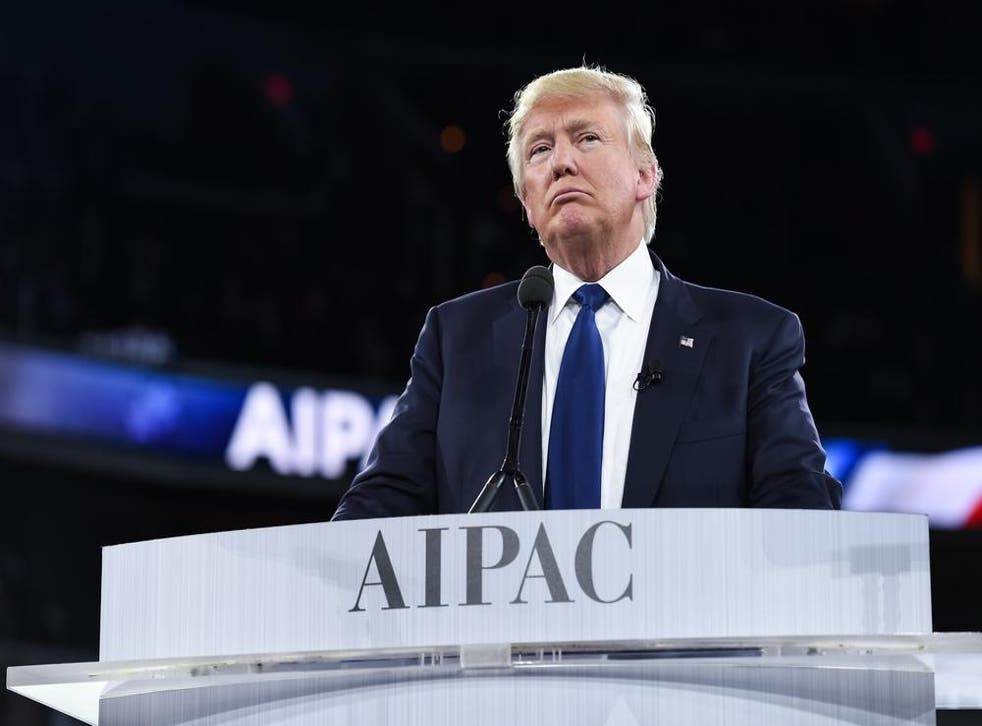 Mr Trump has already emerged as a strong voice for Israel