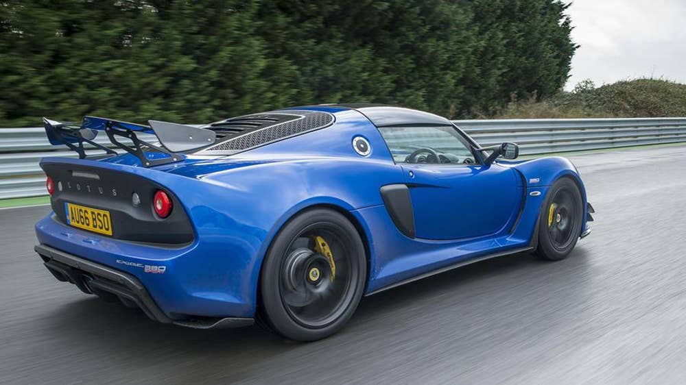 Meet The Lotus Exige Sport 380 The Independent