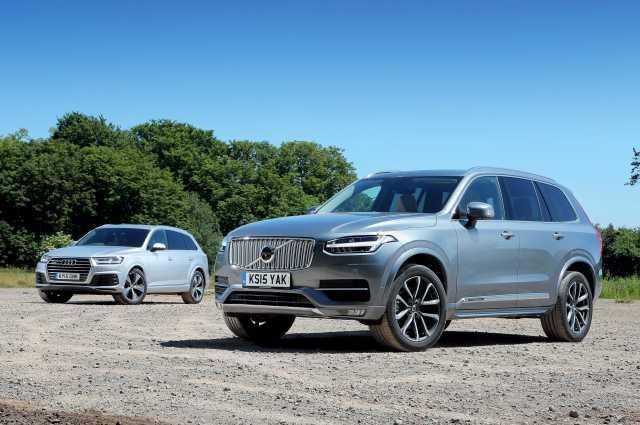 Audi Q7 and Volvo XC90 headtohead  The Independent