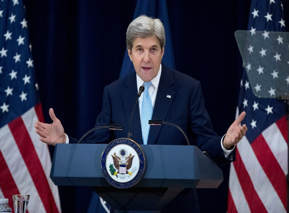 Secretary of State John Kerry staunchly defended the Obama administration's decision to allow the UN Security Council to declare Israeli settlements illegal
