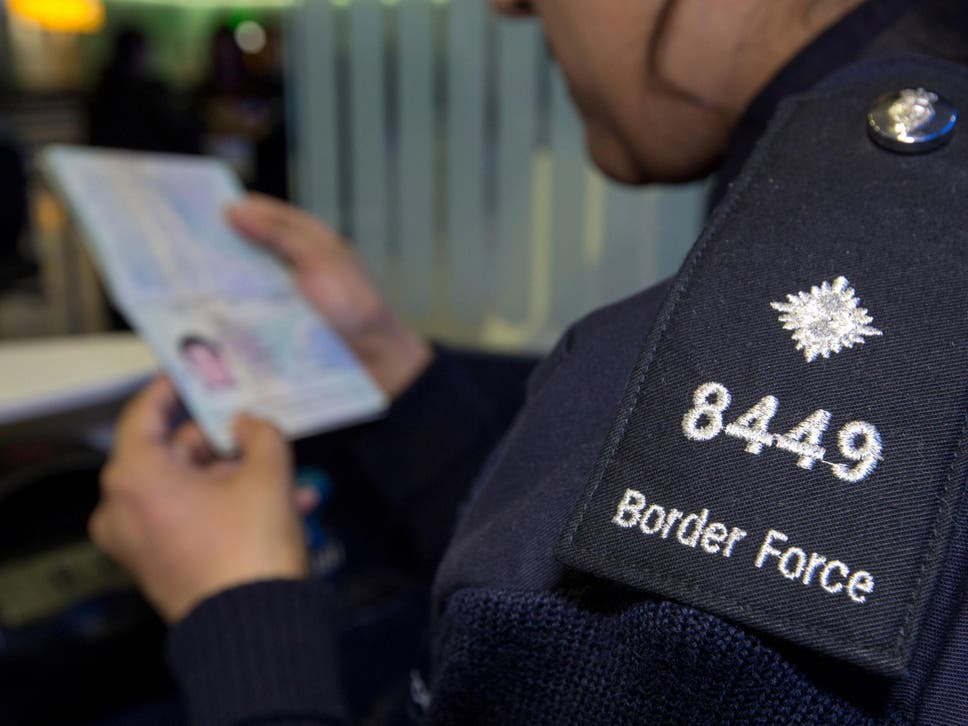 Head of Border Force admitted situation would be 'sub-optimal'