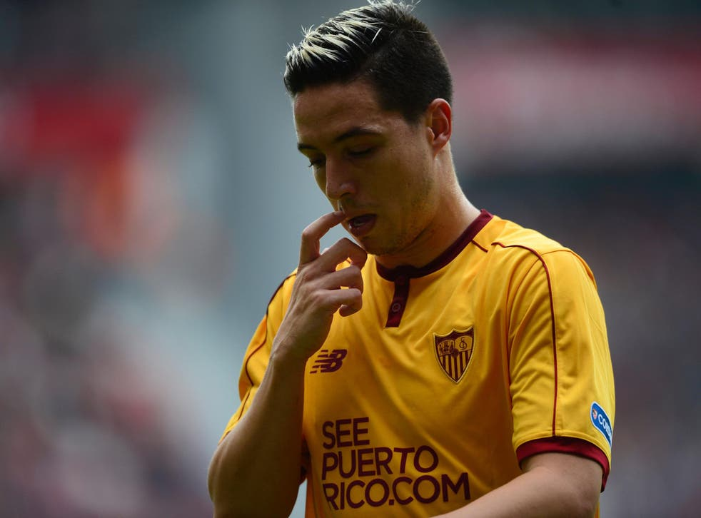 Samir Nasri is set to be banned for a year by Uefa