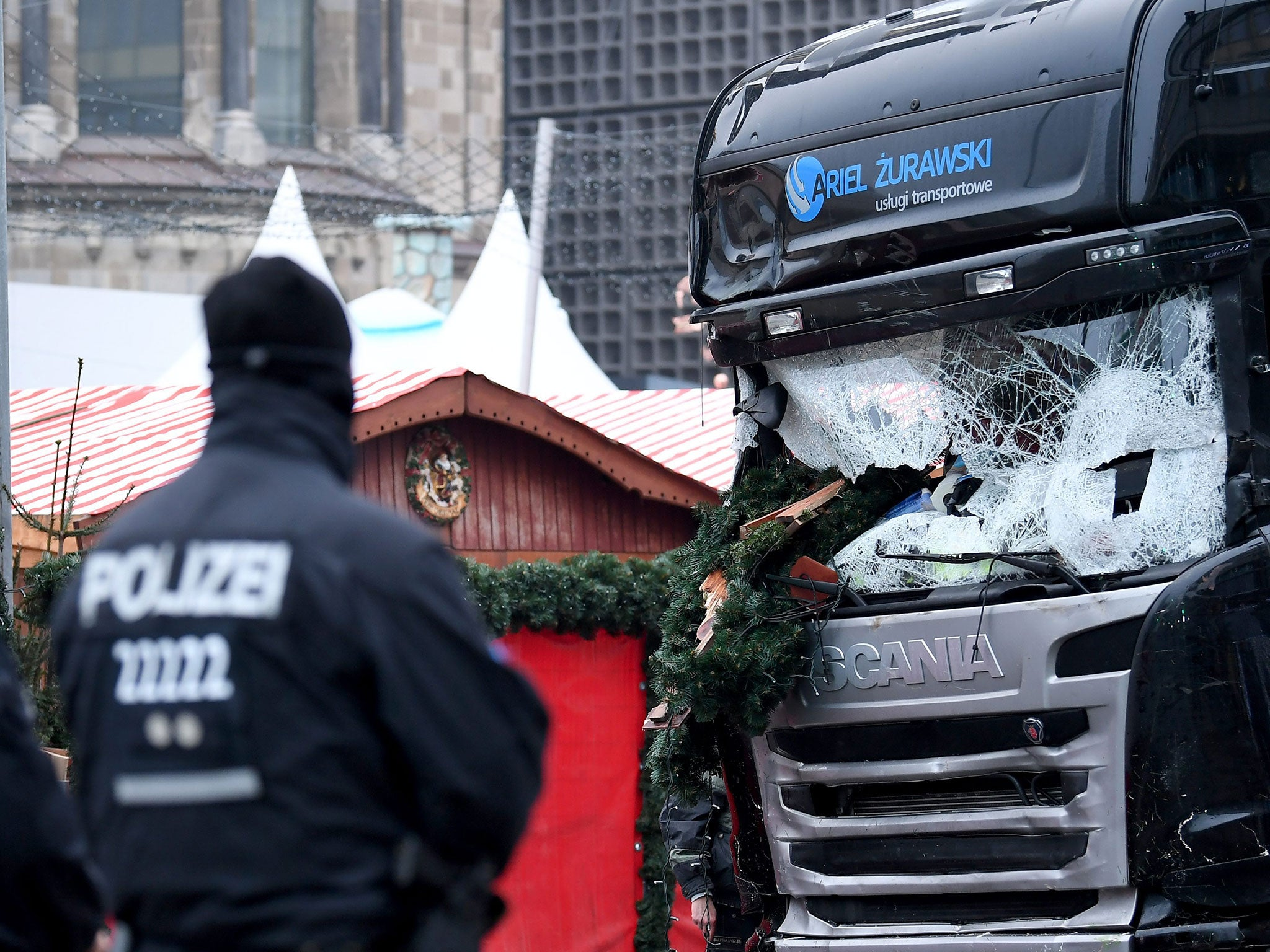 Berlin Attack Lorry 39 S Automatic Braking System Stopped