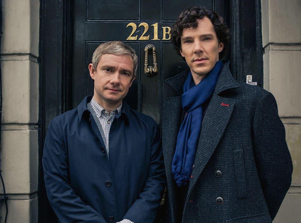 A scene from Sherlock