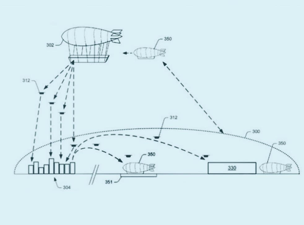 Amazon intends to roll out drone deliveries across the world