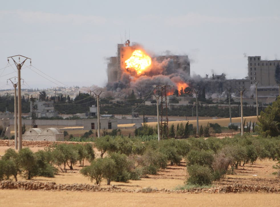 US-led air strikes helped the effort to push Isis out of Manbij earlier this year