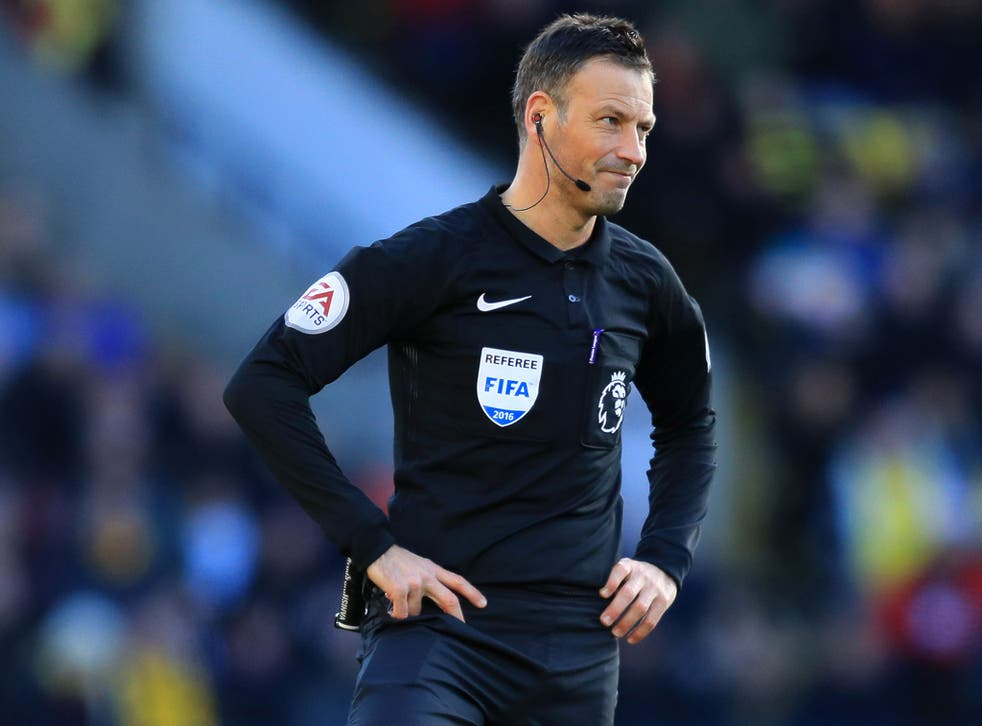 Mark Clattenburg has run his mouth but to what effect and for what purpose?  | The Independent | The Independent