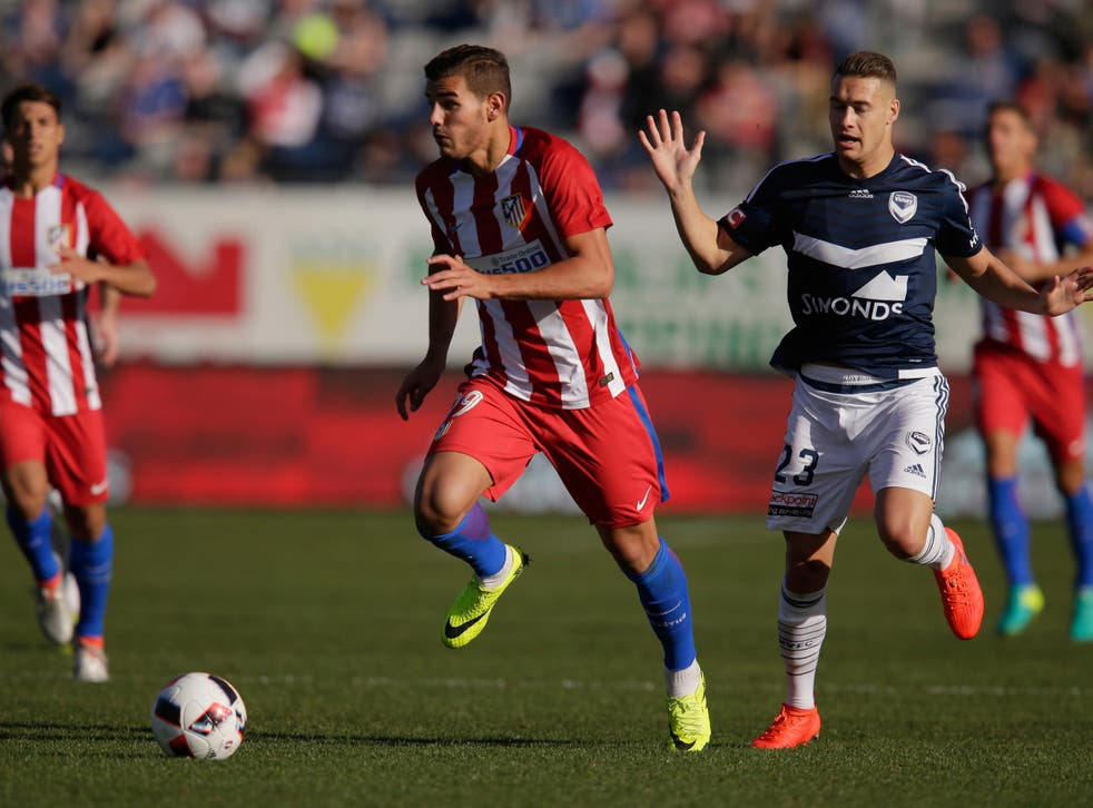 Theo Hernandez is currently on loan at Alaves