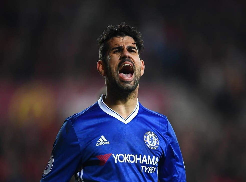 Diego Costa returns from suspension for Chelsea against Stoke