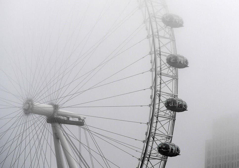 UK fog set to clear in time for new year fireworks but cold