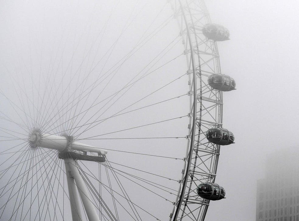 Heavy fog is expected to lift ahead of New Year's Eve fireworks displays