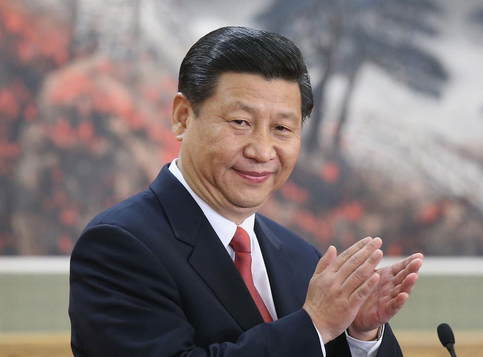 Mr Xi made the televised remarks in his annual New Year's Eve address in which he touted the country's growing role as a leader in global affairs
