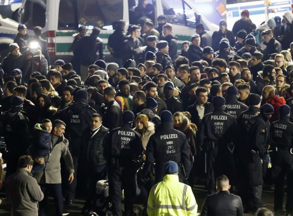 Cologne Police were accused of racial profiling after announcing they were security screening 'Nafris'