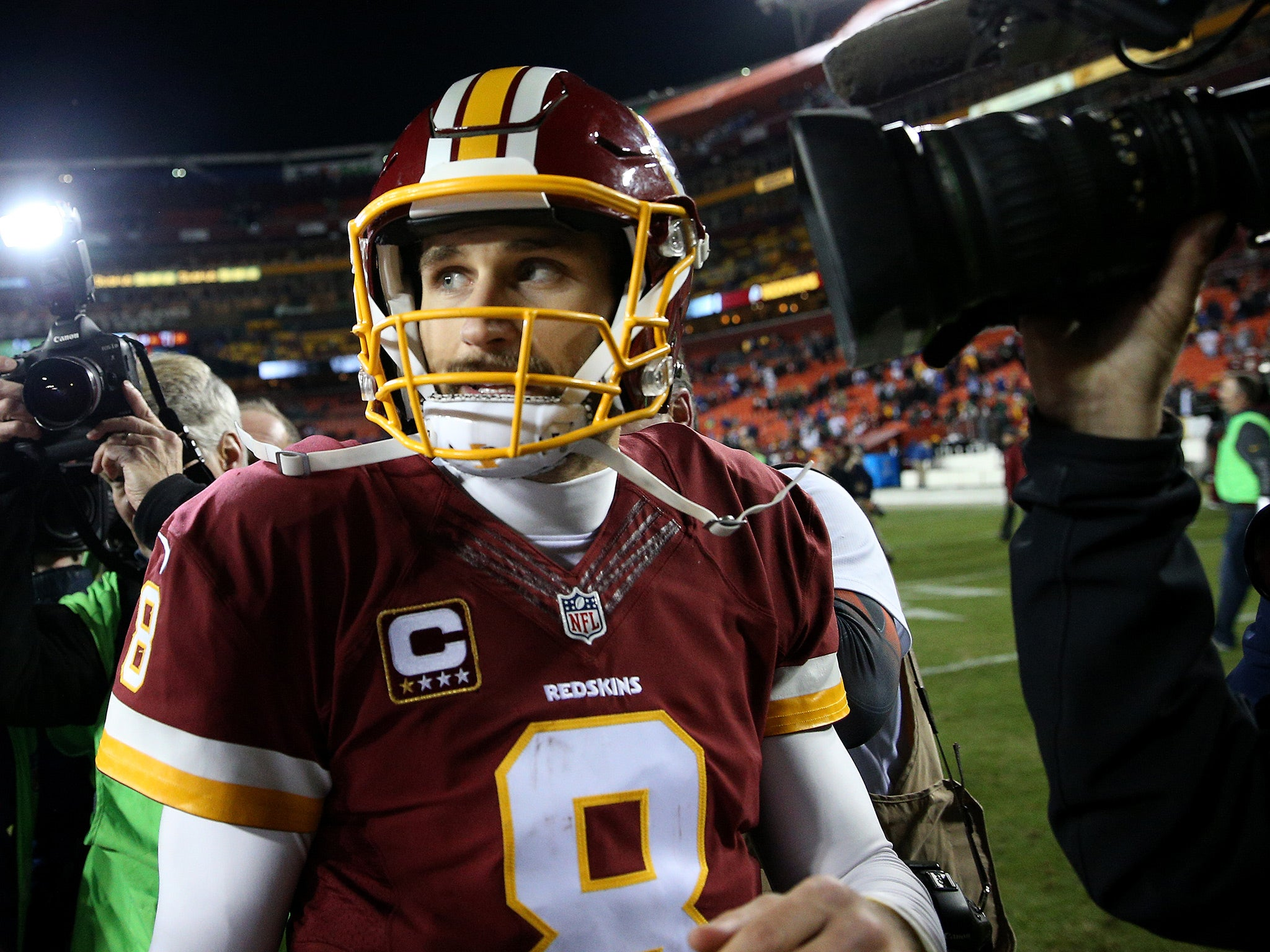 NFL round-up: Kirk Cousins interception blows Washington Redskins' chance of play-off place | The Independentindependent_brand_ident_LOGOUntitled