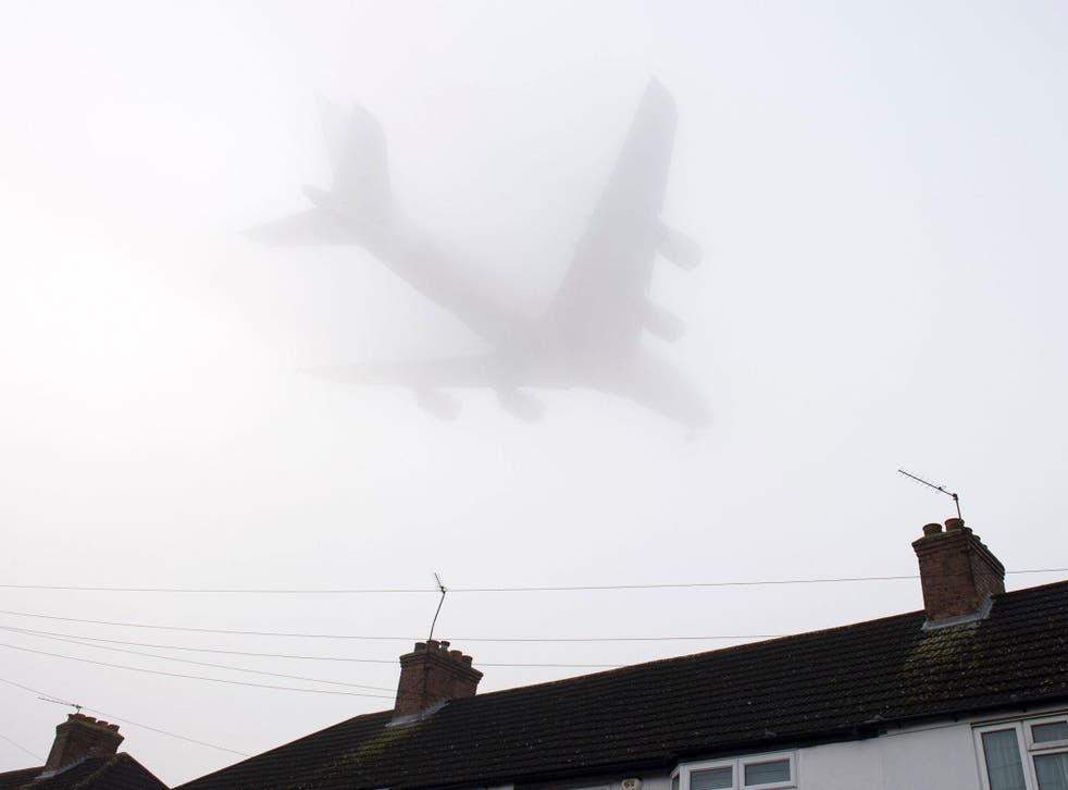 Fog has been prevalent over the Christmas period