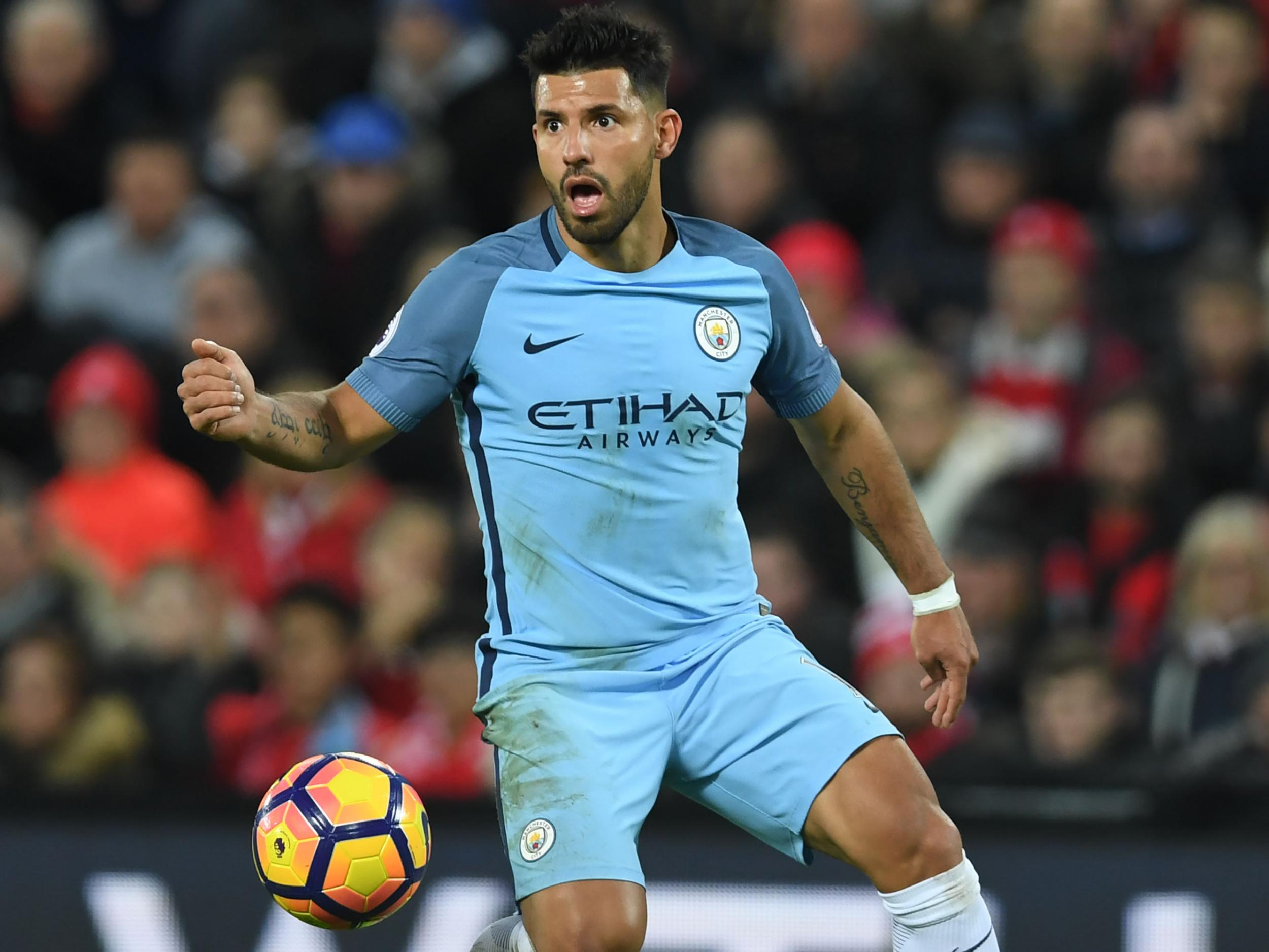 Image result for sergio aguero 2017