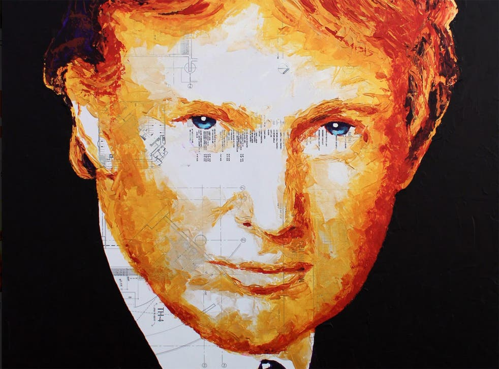 Trump used $10,000 of the foundation's money to buy a four-foot-high portrait of himself, then hung it on the wall of one of his resorts