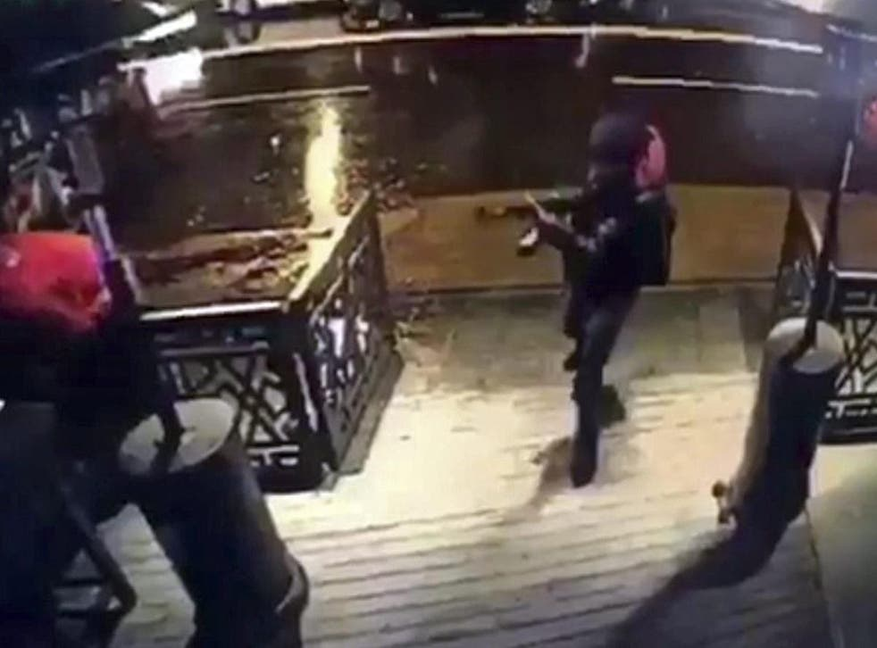 The gunman shot 39 dead while they celebrated the new year in a popular Istanbul nightclub