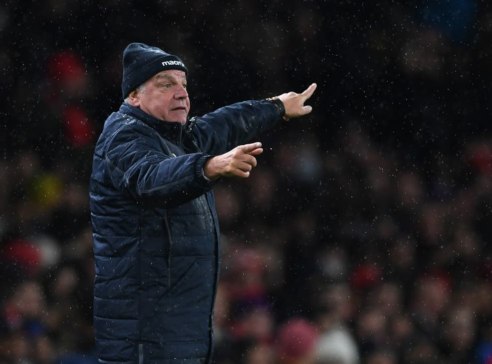 Allardyce is hoping Swansea's lack of confidence will work in Palace's favour