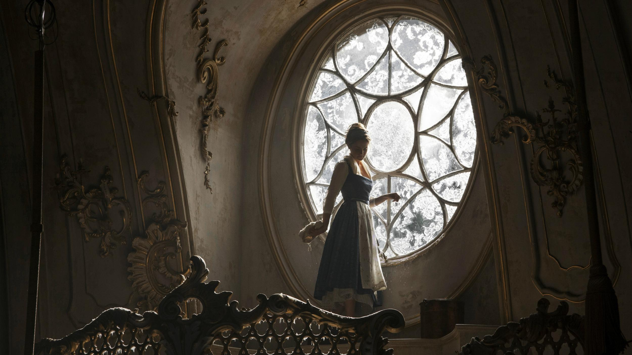 Beauty And The Beast New Footage First Official Look At Emma Watson Singing Something There