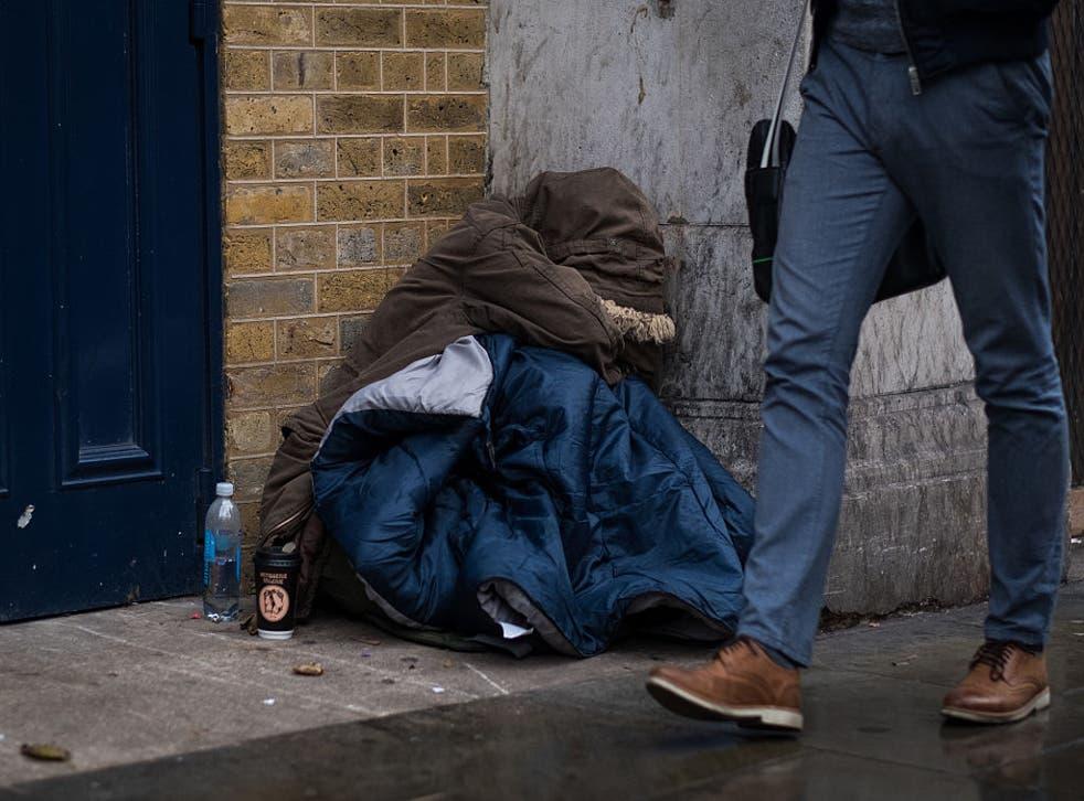 Ethnic minorities have borne the brunt of spiralling homelessness in England