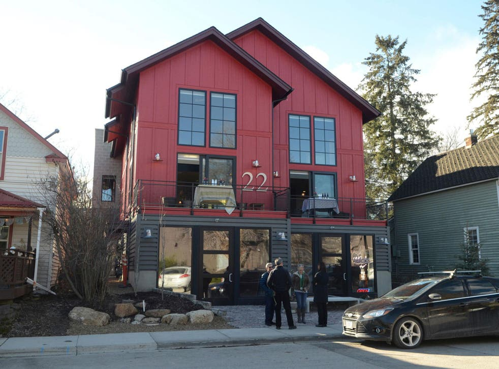 This photo shows the mixed-use building owned by Sherry Spencer in Whitefish. She says her retail tenants have been targeted because of the white nationalist viewpoints of her son, Richard Spencer