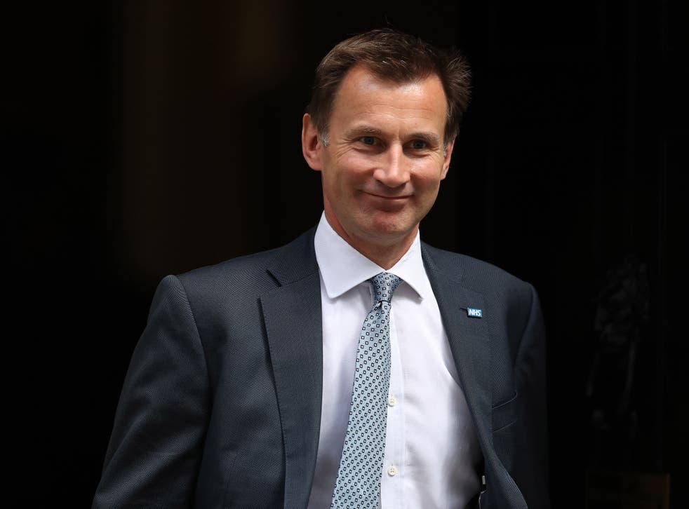 The Health Secretary Jeremy Hunt, however, has poor personal ratings – a likely reflection of his prolonged battle with the junior doctors over a new contract, which led to historic strikes in the profession across the country