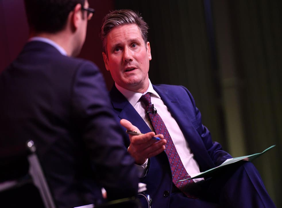 Shadow Brexit secretary Sir Keir Starmer will be well aware that his position on free movement means he would have to be prepared to see Britain leave the single market