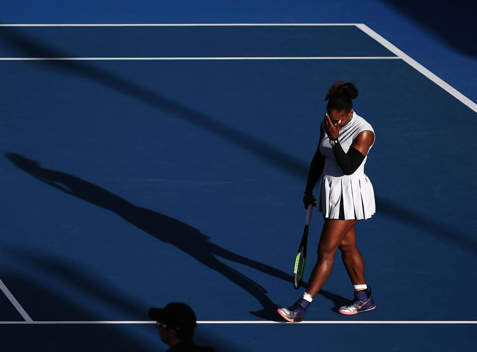 Williams made 88 unforced errors against her fellow American