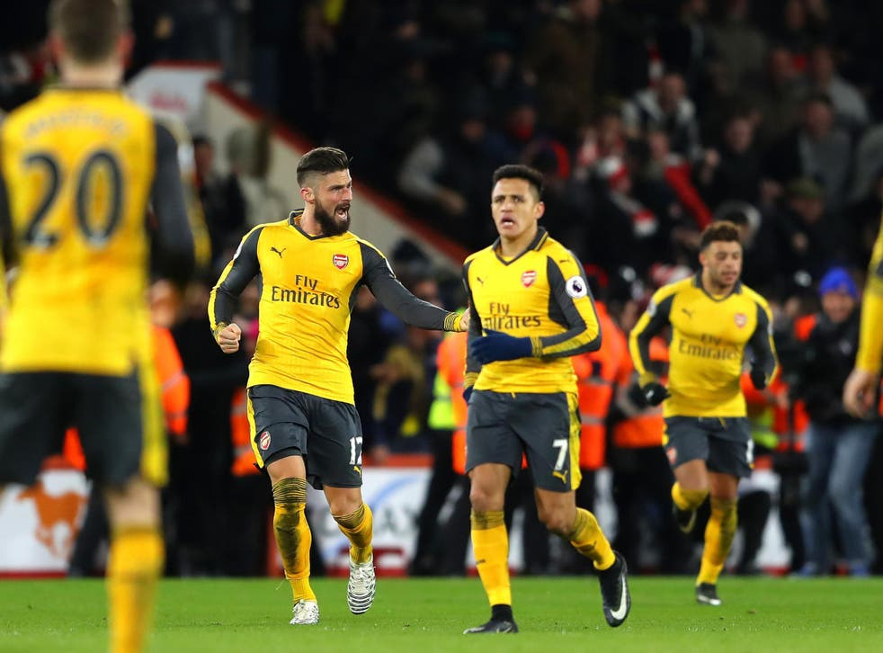 Alexis Sanchez was unimpressed by his teammates for wasting time celebrating