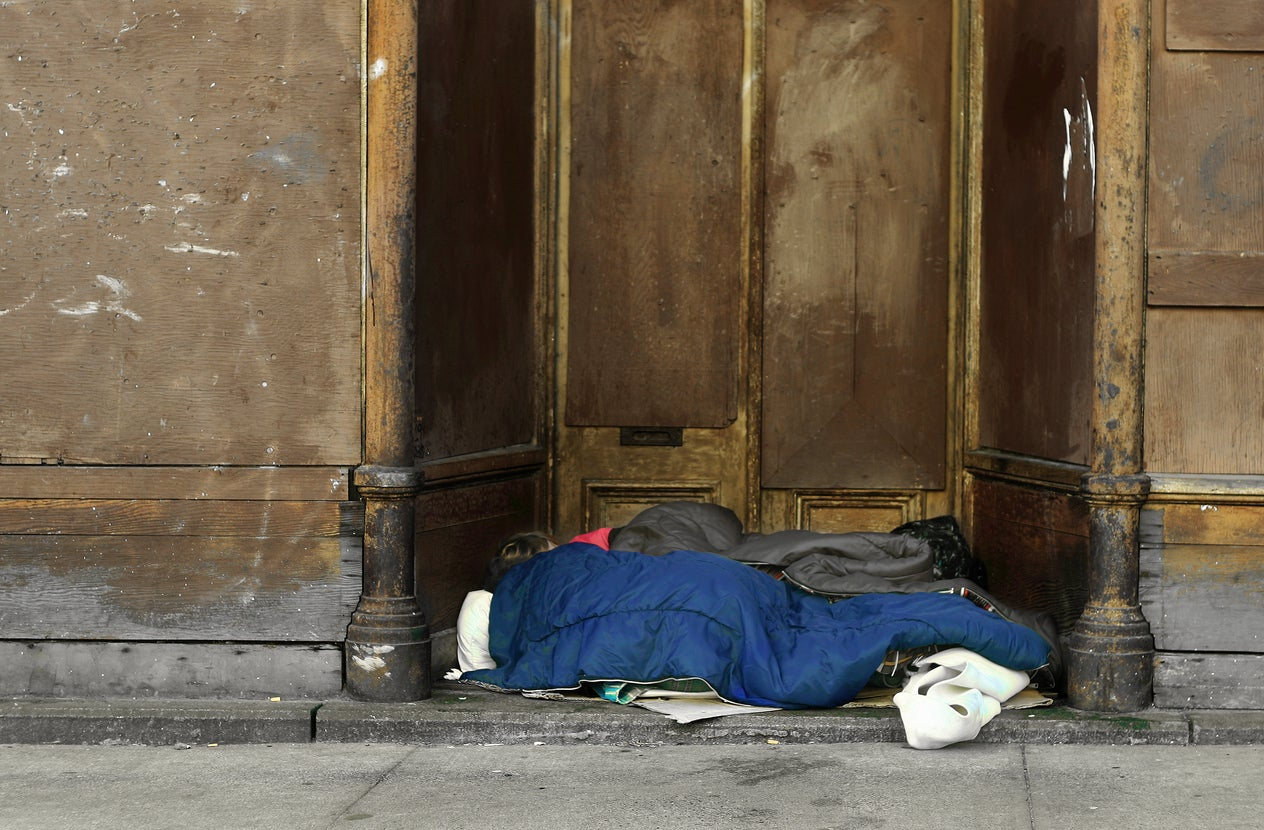 The secretly homeless social worker who used welfare services she offered others