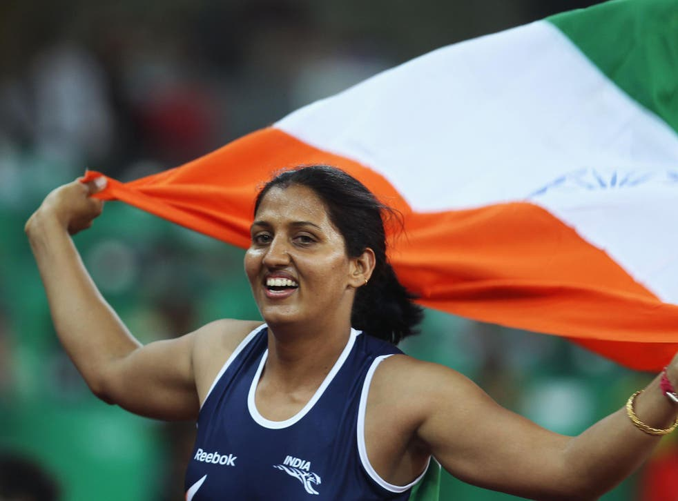 Commonwealth Games gold medallist Krishna Poonia has been involved in women's rights campaigning for a long time
